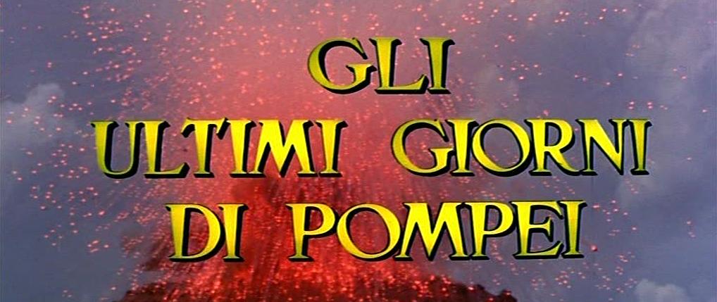 letzten Tage von Pompeji, Die