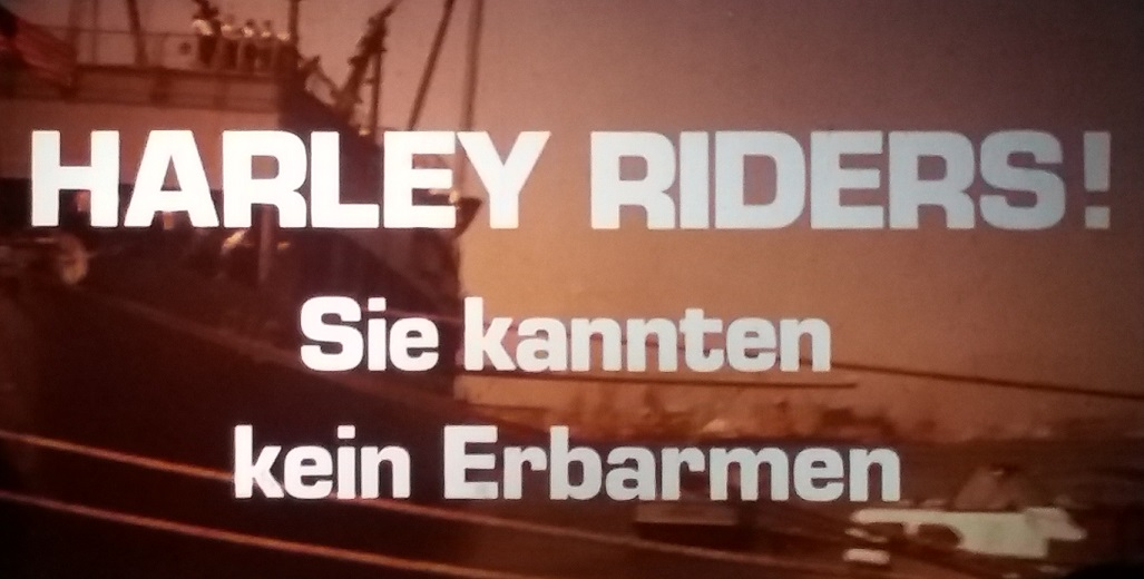 Harley Riders - Sie kannten kein Erbarmen