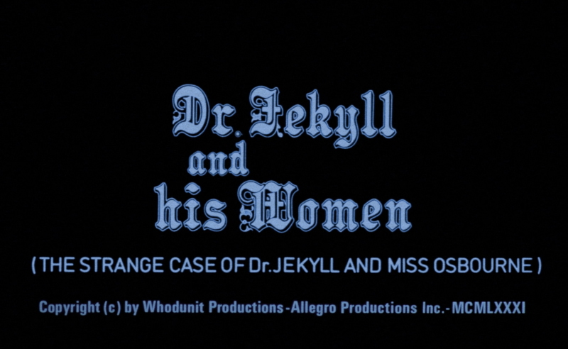 Strange Case of Dr. Jekyll and Miss Osbourne, The