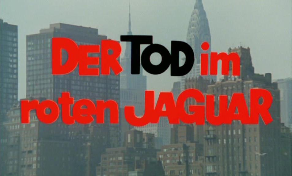 Tod im roten Jaguar, Der