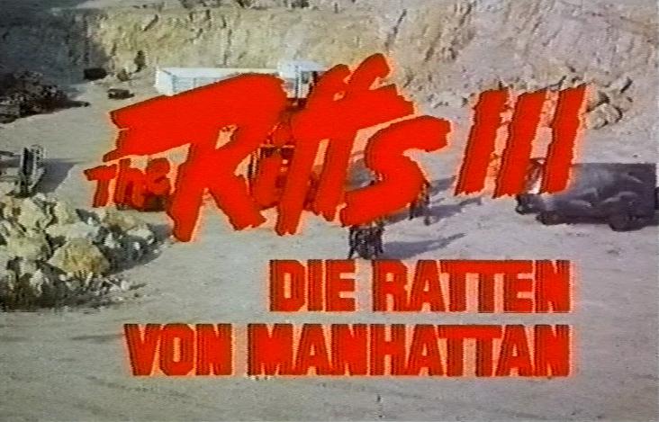 Riffs III - Die Ratten von Manhattan, The