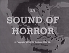 Sound of Horror