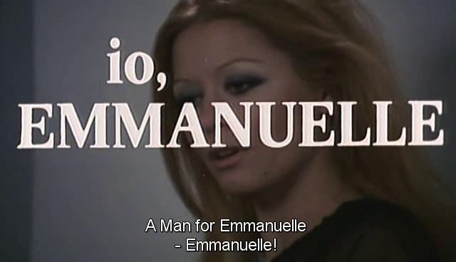 Man for Emanuelle, A