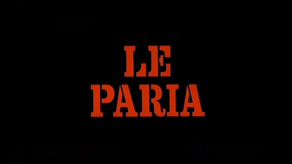 paria, Le