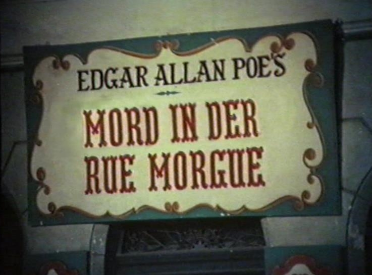 Mord in der Rue Morgue