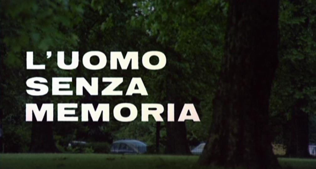 Mann ohne Gedächtnis, Der