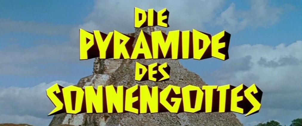 Pyramide des Sonnengottes, Die