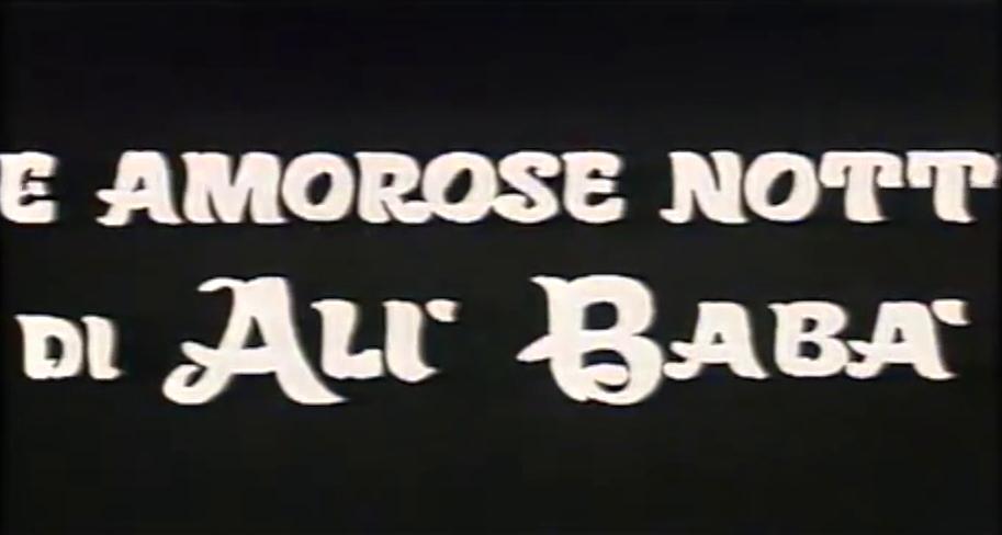 amourösen Nächte des Ali Baba, Die