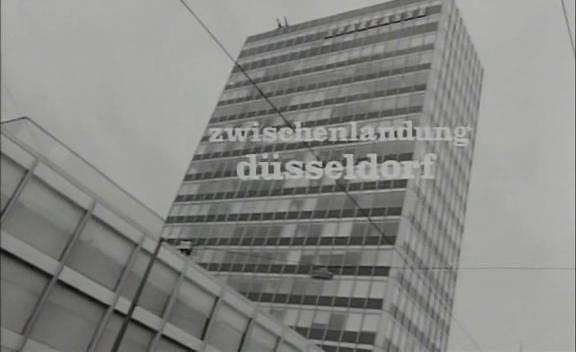 Zwischenlandung Düsseldorf