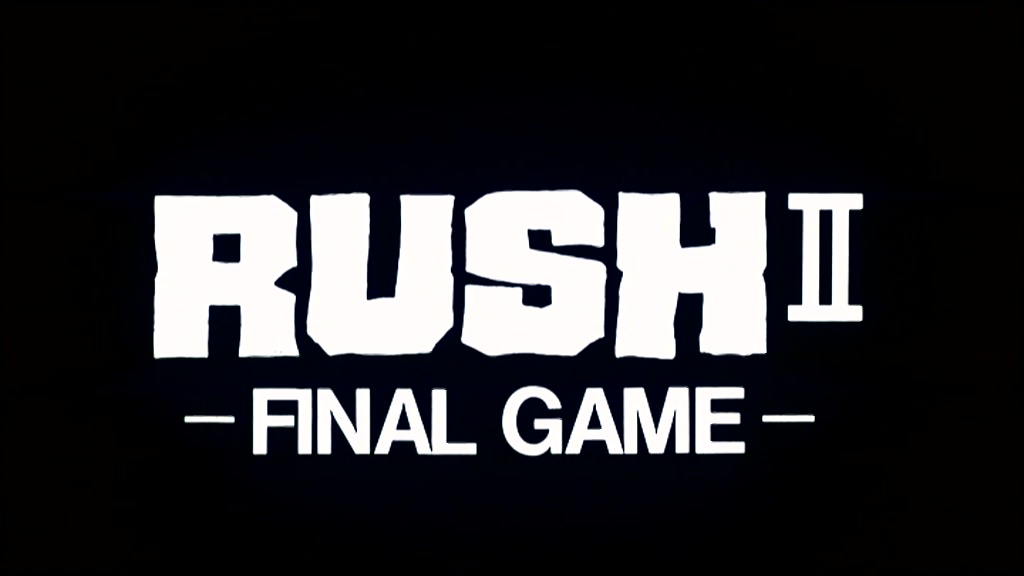 Rush 2 - Final Game