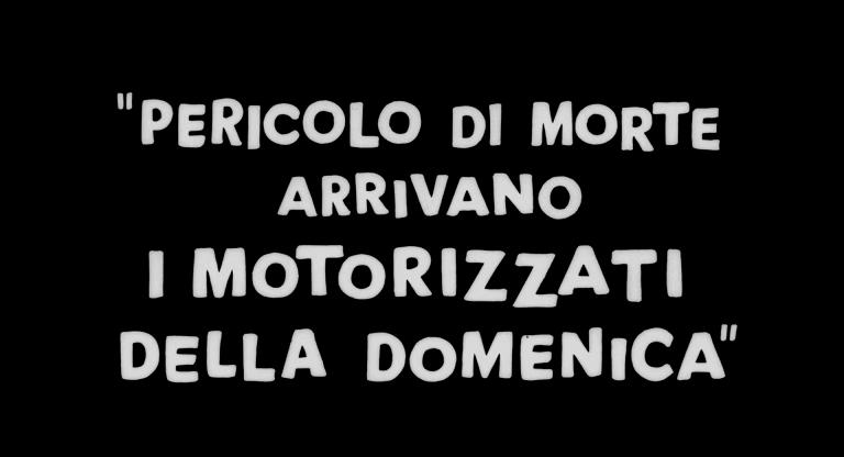 motorizzati, I