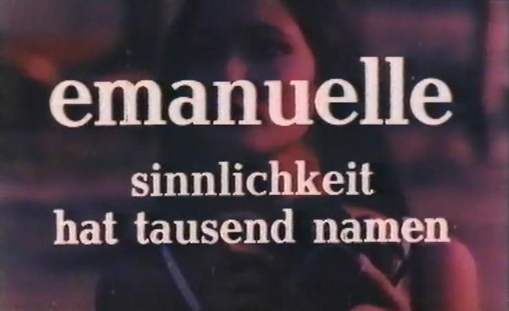 Emanuelle - Sinnlichkeit hat tausend Namen