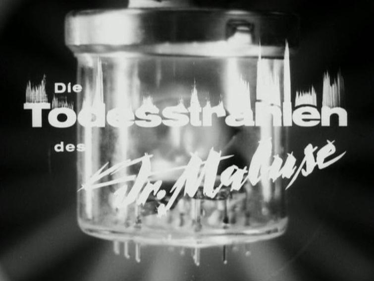 Todesstrahlen des Dr. Mabuse, Die