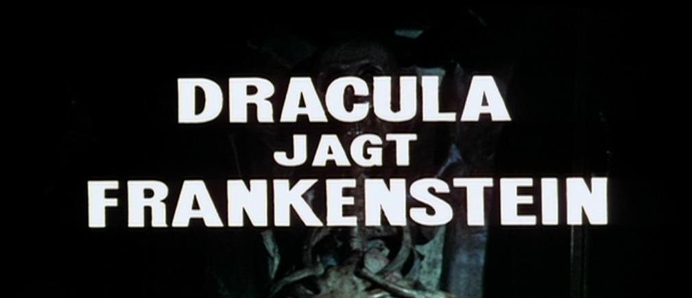 Dracula jagt Frankenstein