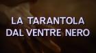 schwarze Leib der Tarantel, Der