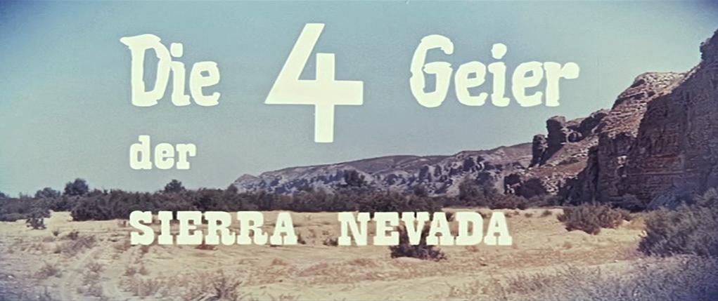 vier Geier der Sierra Nevada, Die