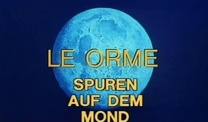 Spuren auf dem Mond